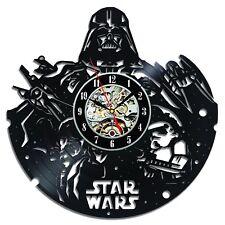 Darth Vader Handmade Decor Vinyl Record Wall Clock Star Wars Gift Idea