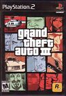 3 PS2 PLAYSTATION 2 Games GRAND THEFT AUTO III VICE CITY SAN ANDREAS Collection