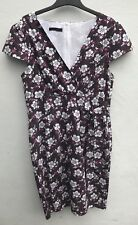 LadiesBrown/Cream/Pink Floral Dress by JOE BROWNS Size 18