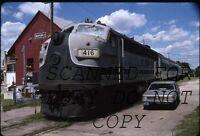 Aug 1990 Cedar Valley Star Clipper #416 Waverly Iowa KODACHROME Railroad