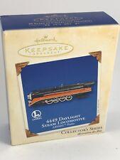 Hallmark Keepsake Christmas Ornament 4449 Daylight Steam Locomotive Lionel Train