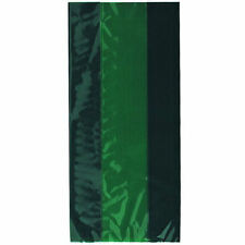 30 Emerald Green Cellophane Gift Bags - Plastic Party/Wedding