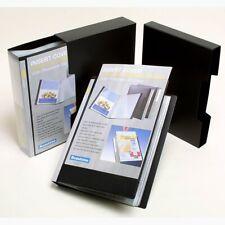 Beautone A4 100 clear pocket Display Book & Slip-Case, black polypropylene 37775