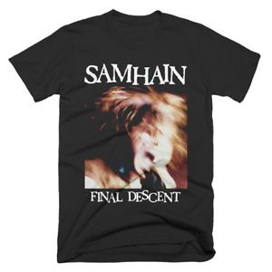 """Samhain """"Final Descent (Alternate)"""" Black T-Shirt"""