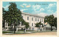 Georgia, GA, Albany, Y. M. C. A. 1920's Postcard