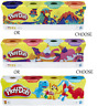 Play-Doh Pack of 4 Tubs Pack Of Classic Colour Dough Creative Modelling - Choose