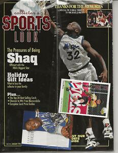 Collector's Sports Look 1994 SHAQ MICHAEL JORDAN Magic Johnson card *SEALED*
