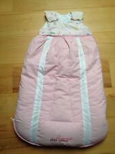Odenwälder ❤️ Babynest Clima Balance Daunen 4 Jahreszeiten Schlafsack 70cm Rosa