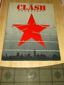 The Clash Anthology, 1982, Vocal/Guitar Paperback from 1982 in Very Good Cond