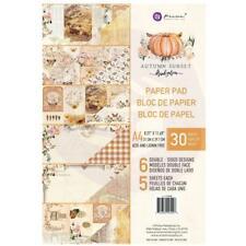 Prima Autumn Sunset Double-Sided Paper Pad A4 30/Pkg Motivblock A4 6 Designs/5x