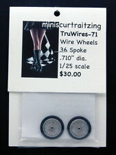 1/25th TruWires-71 Wire Wheels