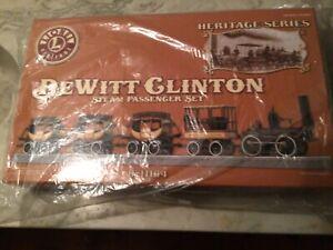 Lionel Dewitt Clinton heritage series steam passenger set -new