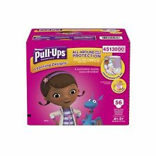 Huggies Pull-Ups Training Pants With Learning Designs for Girls 4 - 56 Count