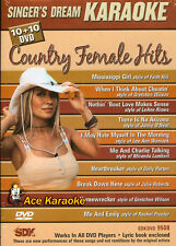 Singer's Dream Karaoke DVD SDK 9508 Country Female BRAND NEW SEALED REGION FREE