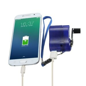 Hand Crank USB Emergency Phone Charger Portable Power Generator Outdoor Camping