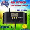 30A 60A Plus LCD Solar Panel Battery Charge Controller Regulator 12V 24V PWM PK
