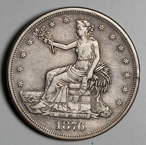 1876 Trade Silver Dollar Item#P14181