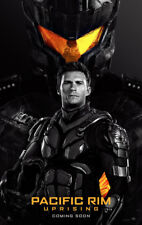 PACIFIC RIM UPRISING MOVIE POSTER 2 Sided ORIGINAL Ver B 27x40 SCOTT EASTWOOD