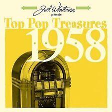 VARIOUS ARTISTS - JOEL WHITBURN PRESENTS: TOP POP TREASURES 1958 (NEW CD)