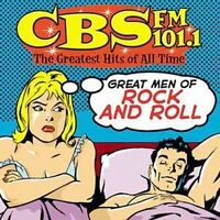 CBS FM 101.1-THE GREATEST HITS OF ALL TIME: GREAT MEN OF ROCK & ROLL CD! NR MINT