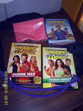 LOT OF 9  EXERCISE DVD'S & TAPES LESLIE SANSOME & BIGGEST LOSER/PAULA  ABDUL