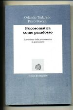 PSICOSOMATICA COME PARADOSSO #Boringhieri 1992 1A ED *G