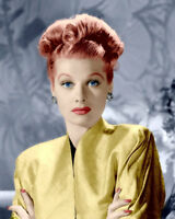Lucille Ball Photo 8X10 - COLORIZED - Buy Any 2 Get 1 Free  -  Lucy