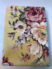 Vintage Ralph Lauren Brooke Multi-Floral Shower Curtain Rare 100% Cotton