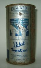 Old 1930's PREMIER PABST FLAT TOP BEER CAN Milwaukee, Wisconsin OI/IRTP