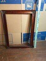 "Vintage Wooden Picture Frame Fits 12 3/4"" by 19 1/4"" Painting"