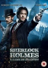 Sherlock Holmes 2 Game Of Shadows Film DVD Robert Downey Jr Jude Law