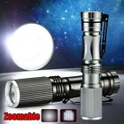 Zoomable 1000LM CREE LED Flashlight Torch Focus Light Lamp Bulb AA Ultra Bright