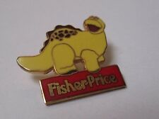 Pin's fisher price (toy diplodocus vintage) Egf signed alann mark's