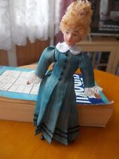 VICTORIAN HOUSEKEEPER DOLL FOR A DOLLS HOUSE