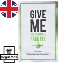 Give Me The Ultimate Face Fix Collagen Sheet Face Mask 20ml FREE POSTAGE