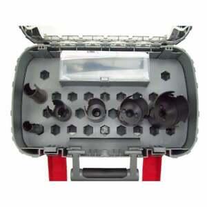 Bosch 2608580871 10 Piece Speed Multi Construction Holesaw Set in Case 20mm-64mm