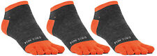 FUN TOES Men Toe Socks 3 Pairs Size 10 to 13 Shoe 6 to 12.5 Great With toe shoes