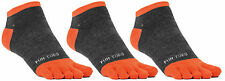 FUN TOES™ Men Toe Socks-3 Pairs-Size 10-13 Shoe 6-12.5 Great With toe shoes