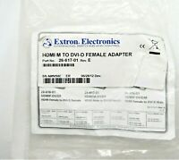26-617-01 REV E EXTRON ELECTRONICS HDMI M TO DVI-D FEMALE ADAPTER - NEW
