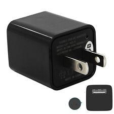 16GB Mini AC Adapter US Plug USB Pen Charger Hidden Spy Video Camera Loop Record