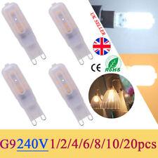 G9 LED Capsule Bulb 8W 2835 SMD Replace Halogen Light Bulb Lamps AC220-240V