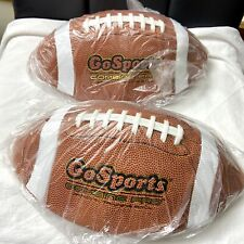 GoSports Combine Pro Football 2 Pack Regulation Size