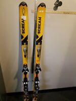 Salomon Scream Skis With Bindings Salomon Power Axe Energy 2 Size 176 Cm
