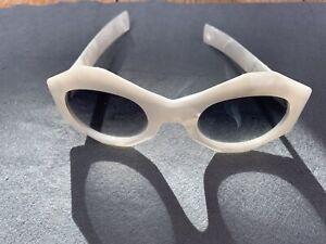 glasses 56 16 130 braun weiß Modell 78 ORIGINAL 70er Vintage Damen Brille NEU