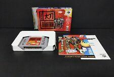 John Romero's Daikatana (Nintendo 64, 2000) N64 Boxed with Poster and Inserts