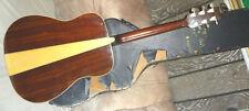 Vintage YAMAHA FG-180-1 Acoustic Guitar wedge back black label