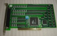 1PC Used Advantech PCI-1754 REV.A1 01-1 64 way the amount of input card