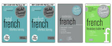 Michel Thomas Total French, Perfect French, Masterclass, and Vocabulary Builder+