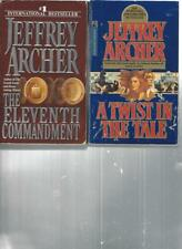 JEFFREY ARCHER - THE ELEVENTH COMMANDMENT - A LOT OF 2 BOOKS