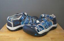 3b0c66dd5130 KEEN Boys Childrens Kids Newport H2 Sandals 1018257 Blue Nights Print Sz 10